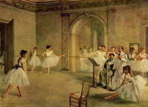 degas Le foyer de la danse a l'opera