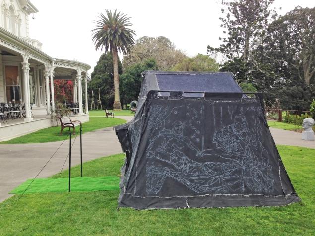 tent at wallace